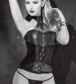 Shirley of Hollywood SoH 31066 - Corset Faux leath