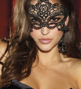 Shirley of Hollywood SoH-HS 90348 Venice Mask Black One Size