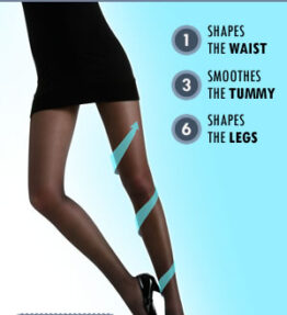 Control Body 920152D Shaping Tights Marrone