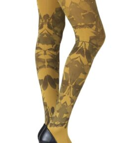 """Zohara """"Don't Leave Me"""" Mustard Tights"""
