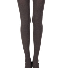 Zohara Heather Brown Opaque Tights