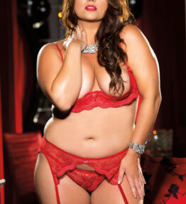 Shirley of Hollywood SoH-IA X331 Bra Red