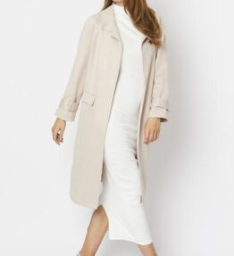 Shop Faux Suede Oversize Coat and women's clothes at www.amora-shopping.com