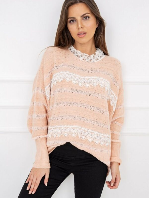 Shop A charming proposition that will be good both for work and for more formal meetings. What is this sweater tempting