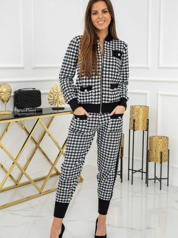 Shop A stylish homewear that's nice to jump into after work. Black & white edition