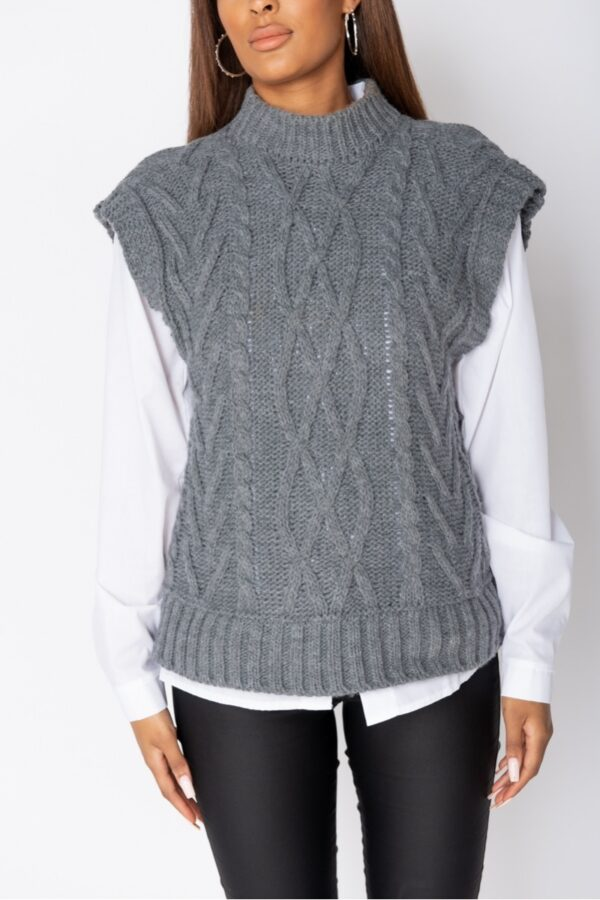 •Shop cable knit jumpers